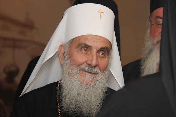 His Holiness Patriarch Irinej of Serbia